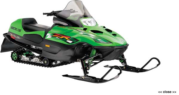 Arctic Cat Snowmobiles 500. 2001 Arctic Cat ZR 500