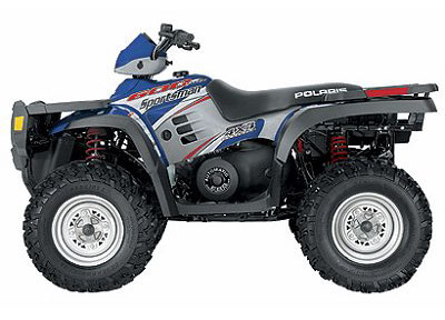 workshop manual covers 1996-2010 Polaris Sportsman 400, 450 and 500