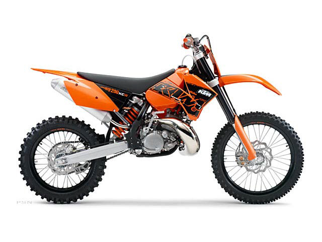 2007 KTM 200 XC-W Click for larger picture