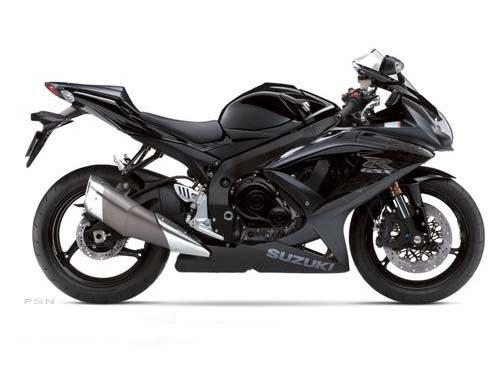 2009 Suzuki GSX-R600 Black Edition