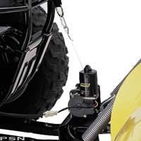electric plow lift by warn acirc reg from moose utility atv  electric plow lift by warnacircreg
