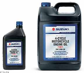 4 Cycle Performance Motorcycle Engine Oil From Suzuki