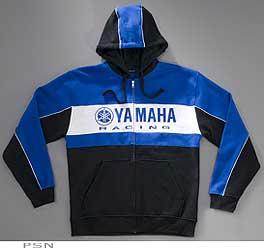 Yamaha Race Stripe Zip-Up Hoodie from Yamaha Accessories & Apparel