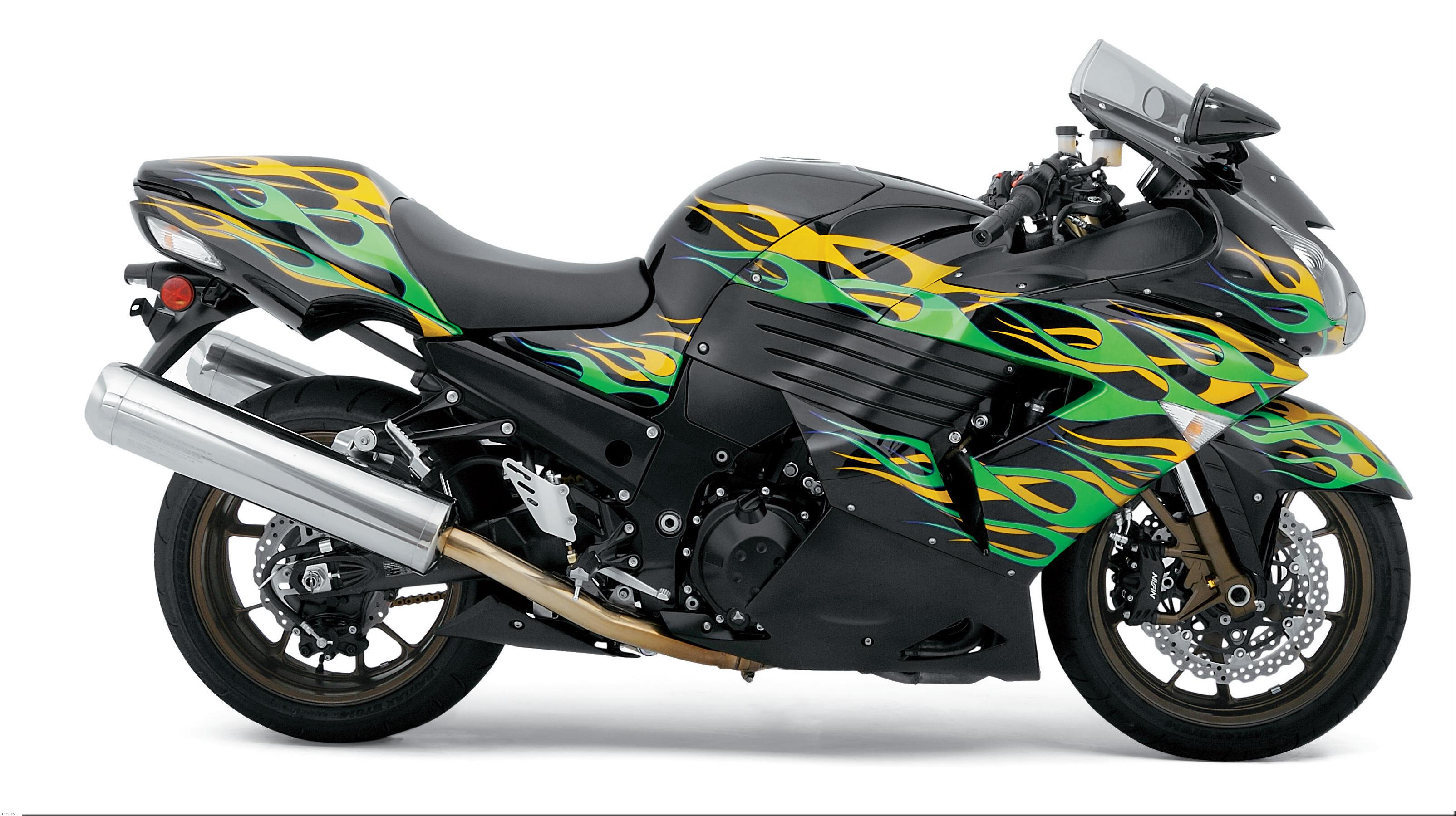 Black Flame Zx14 Custom Paint From Kawasaki Full Line