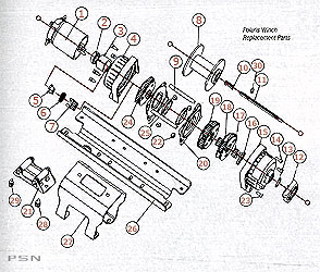 2876805 polaris 3500 lb winch replacement parts from polaris atv warn winch parts diagram at bakdesigns.co