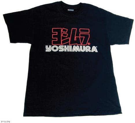 shirt outline front and back. shirt outline front and ack. YOSHIMURA LOGO OUTLINE T-SHIRT