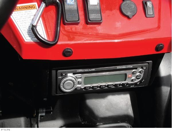 SEIZMIK RZR STEREO MOUNT KIT from Parts Canada ATV 2011
