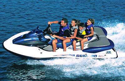 2001 sea doo lrv watercraft for Yamaha water scooter