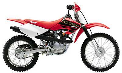2001 Honda XR100R Motorcycles