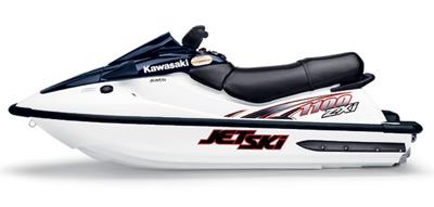 Kawasaki Sts Jet Ski Graphics
