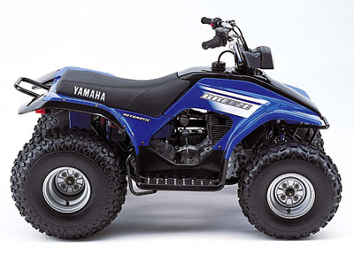 2003 yamaha breeze atvs amazing power for such a small