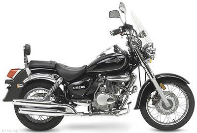 2004 Um Renegade 200 Motorcycles Very Nice Beginner 39 S Bike
