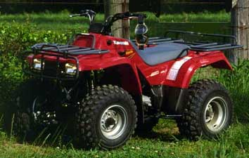 1999 kawasaki bayou 220 atvs - honda recon yeah right!