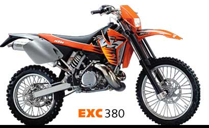 vehicle reviews for 1999 ktm 380 m/xc