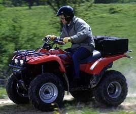 1999 kawasaki prairie 300 2x4 atvs - good 4-wheeler