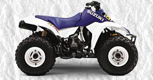 1999 Suzuki Quadsport 80 ATVs - Very Good Bike
