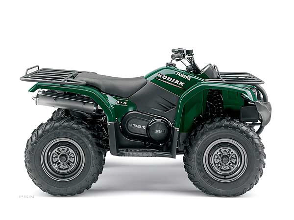 2006 yamaha kodiak 450 auto 4x4 atvs best atv money can buy. Black Bedroom Furniture Sets. Home Design Ideas
