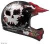 Кроссовый шлем MOTO-X7 ZOMBIE 2 SKULL (ID: 544) .